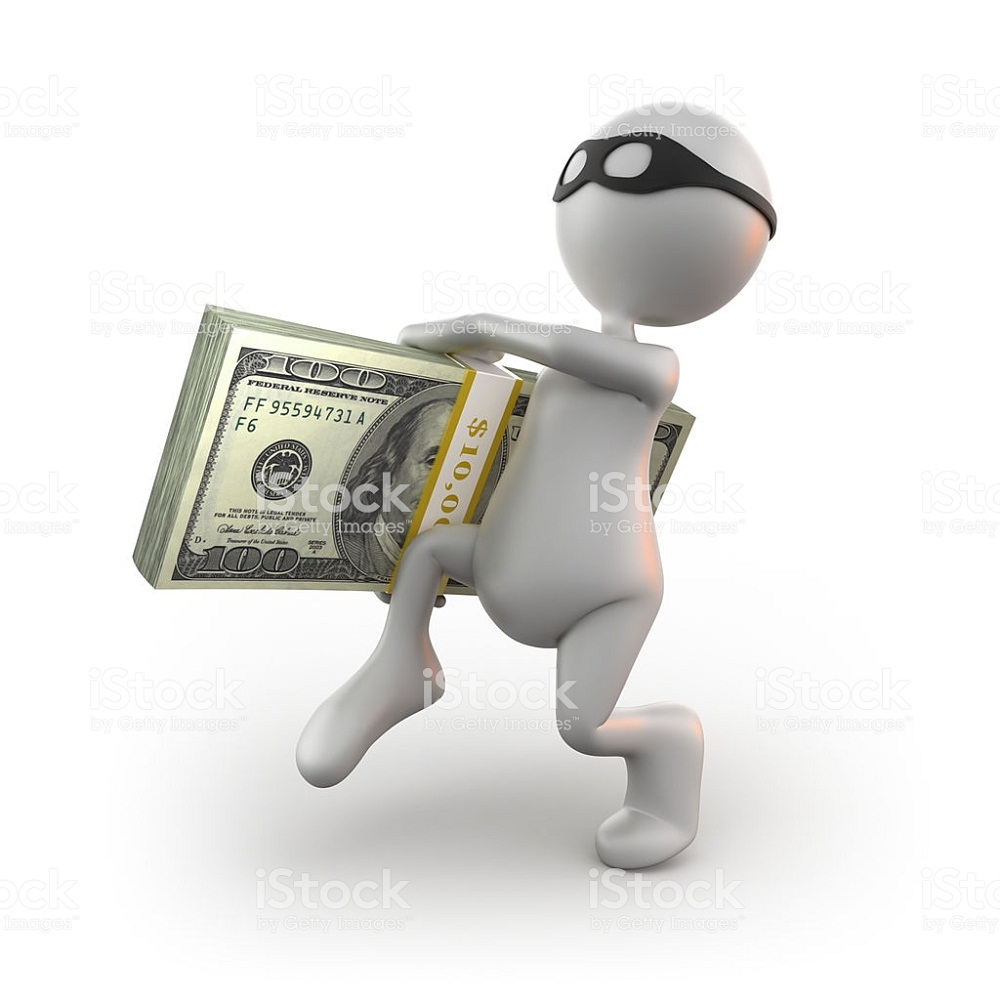 muñeco blanco-robo-billetes